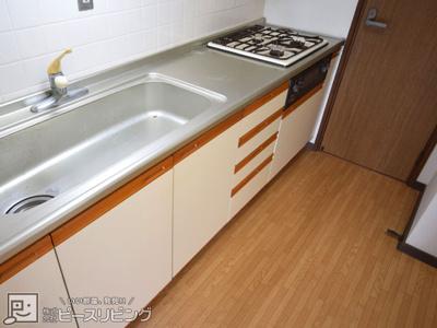 【キッチン】ウッドヴィレッジ新野