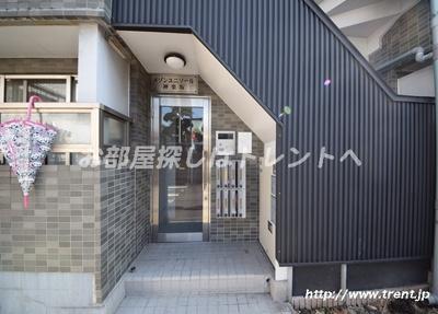 【エントランス】メゾンユニソール神楽坂