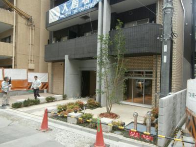 【エントランス】スワンズシティ堺筋本町