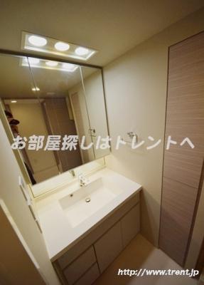 【洗面所】ライオンズ千代田三崎町
