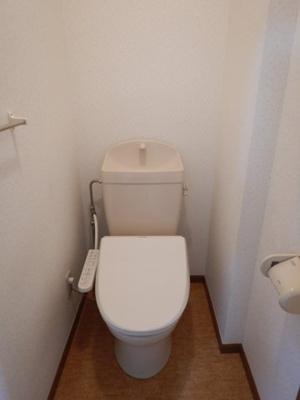 福田町古新田 ノボリゾンチーノ 2DK トイレ