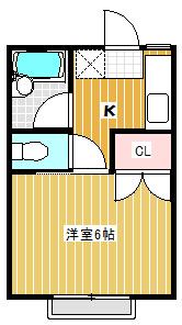 【キッチン】姫宮中央ハイツB