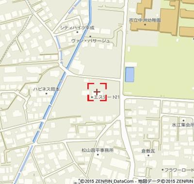 【地図】エステート21A