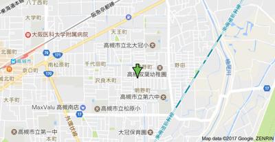 【地図】ヴィラ明野 (株)Roots