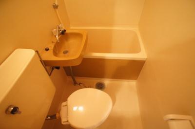 【浴室】平野エンビイハイツ