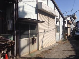 【外観】田辺貸工場・貸倉庫