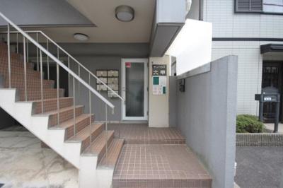 【エントランス】サンハウス六甲