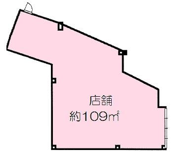 【外観】岸和田商店街 整骨院跡