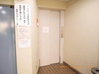 もちろん、エレベーターもついています。