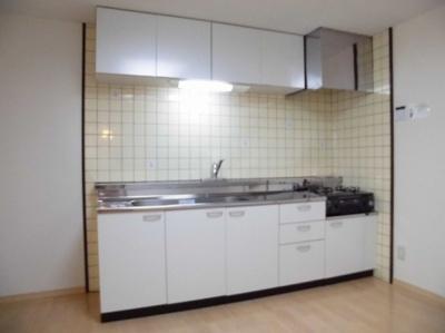 【キッチン】D-room(大和)スカイハイツ諏訪