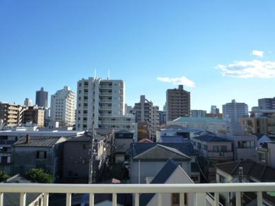 南向き すぐ目の前に高い建物がなく視界が抜けてます