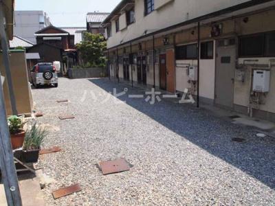 【駐車場】池田アパート 南棟