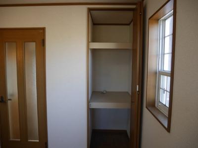 1階収納スペースです