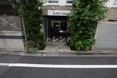 【エントランス】アレーロ白山【ALERO白山】