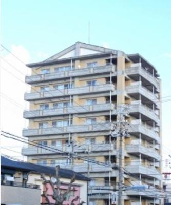 【外観】エクセルコート明石3階 南西角部屋