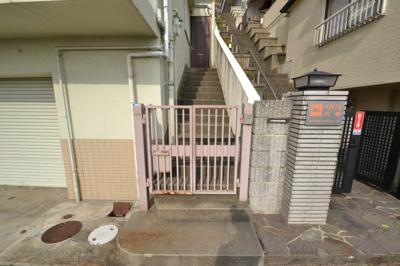 【エントランス】サンビレッジ六甲台
