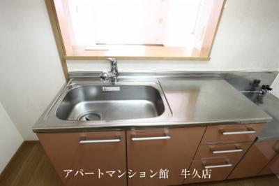 【キッチン】レジデンスさくら台D