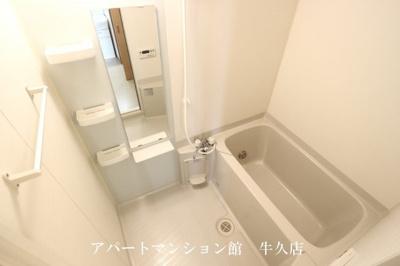 【浴室】レジデンスさくら台D