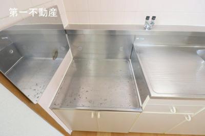 【キッチン】パークサイド・ビュー