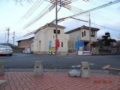【前面道路含む現地写真】蓮田市黒浜 新築分譲住宅全1棟