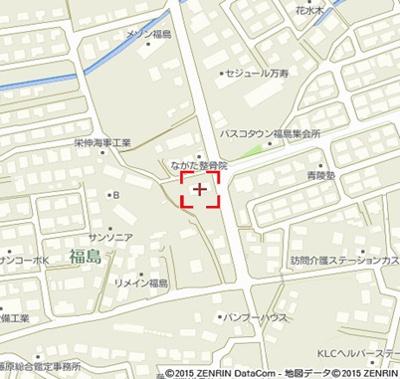【地図】セトル福島