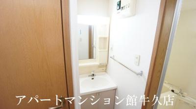 【洗面所】レイクルイーズ