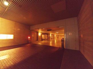 地下駐車場です。【南青山テラス常盤松フォレスト】