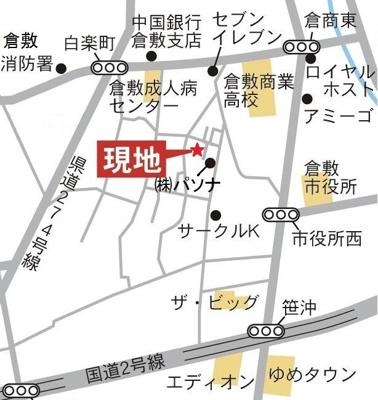 アーバン光Ⅵ(倉敷市白楽町 戸建て賃貸)地図