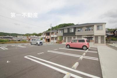 【駐車場】レジデンス天神2