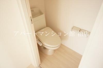 【トイレ】クレール松葉Ⅲ