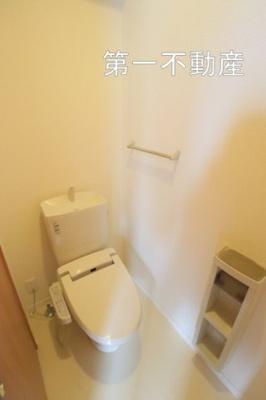 【トイレ】アトリエール上中B棟