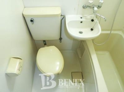 サンライズ新宿のトイレです