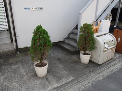 サンライズ新宿の共用部分です