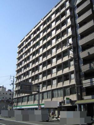 【外観】京都二条ハイツ