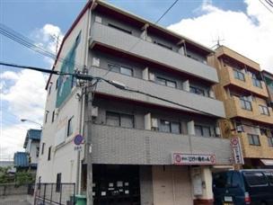 【外観】長原第1マンション