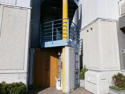 【玄関】シャルマンハイツ