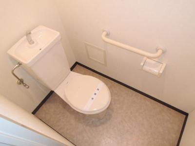 【トイレ】プリムヴェール瓜破