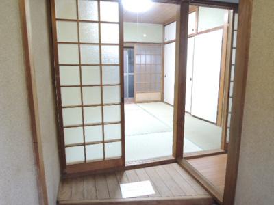 【玄関】旭園アパート