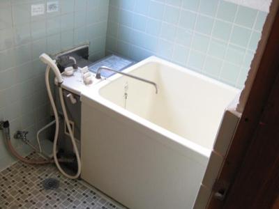【浴室】コーポ平野上町