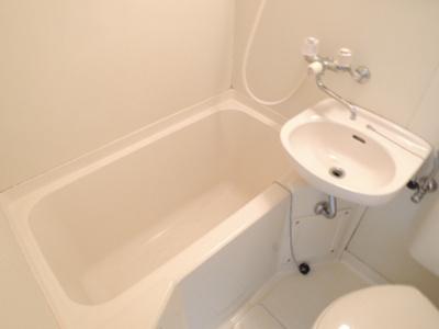 【浴室】メモリアルタウンD棟