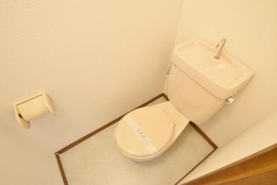 【トイレ】南恵我之荘メゾネットハイツ