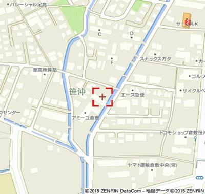 【地図】パルティール葦高