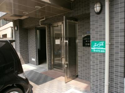 【ロビー】エイチ・ツー・オー東住吉Ⅱ番館
