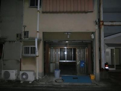 【外観】二条通 住居付店舗