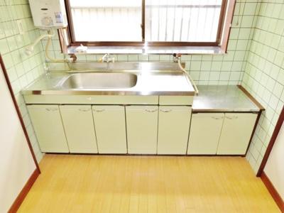 【キッチン】南恵我之荘貸家