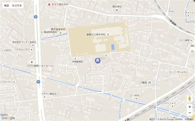 【地図】イーストピア扇