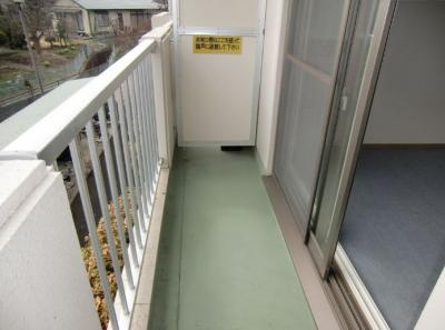 【バルコニー】ヒルフォート安倍館