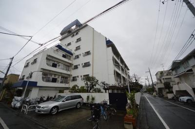 【外観】石川台ハイツ