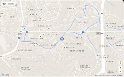 【地図】メゾン羽島