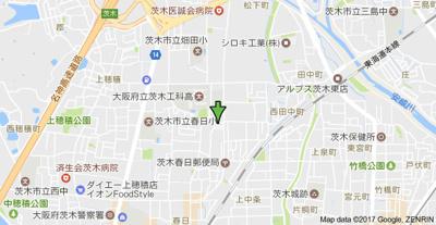 【地図】スプリングハイムM